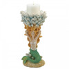 Mermaid and Coral Candle Holder