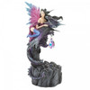Fairy and Dragon Figurine with Crystal and Light