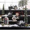Vintage-Look Desk Clock - Gas Pump