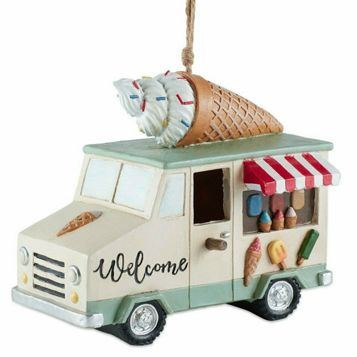 Ice Cream Truck Birdhouse