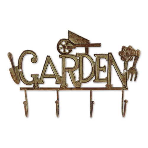 Cast Iron Garden Wall Hook