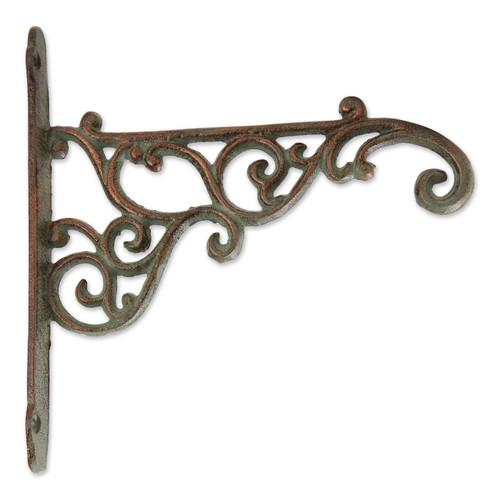 Cast Iron Plant Hanging Bracket Hook - Swirls