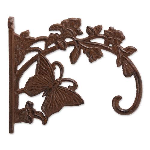 Cast Iron Plant Hanging Bracket Hook - Butterfly