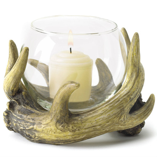 Antler Candle Holder