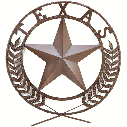 24-inch Lone Star State Metal Wall Art