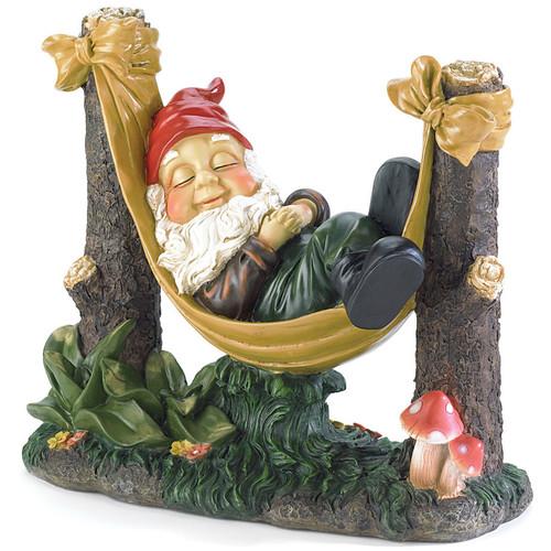 Snoozing Garden Gnome