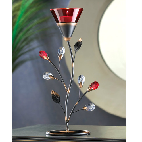 Romantic Red Tealight Holder