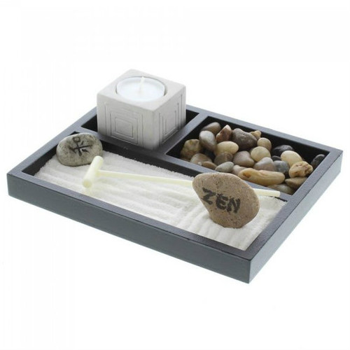 Zen Garden with Candle Holder