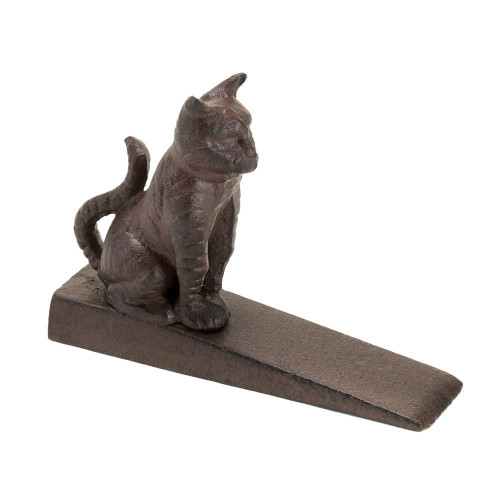 Cast Iron Kitty Cat Door Stopper