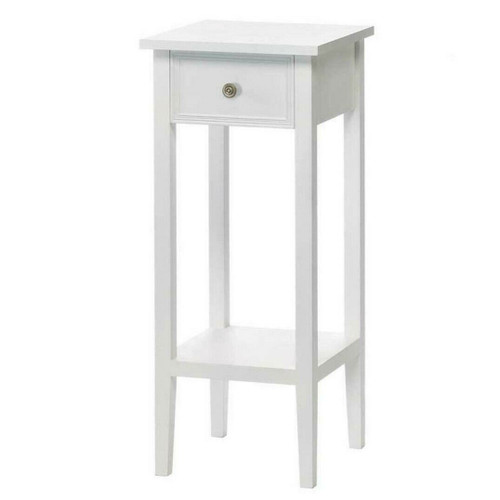 White Accent Table or Plant Stand
