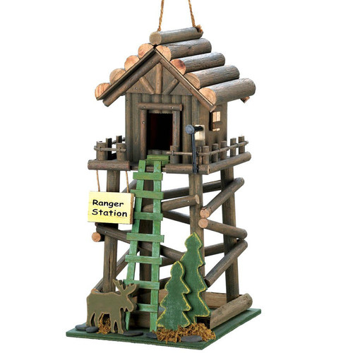 Wood Ranger Station Bird House