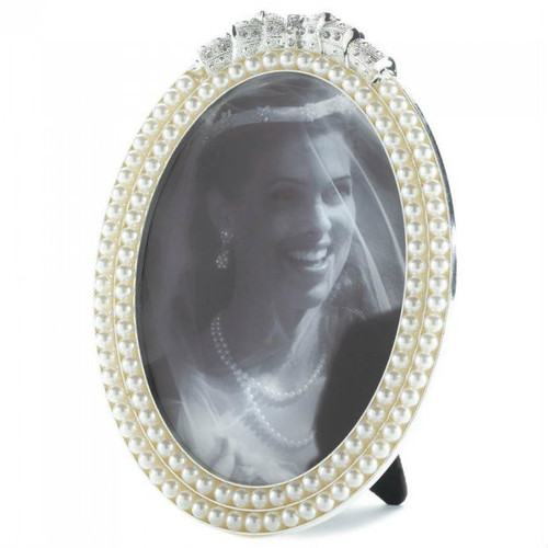 Strands of Pearls Picture Frame - 5x7