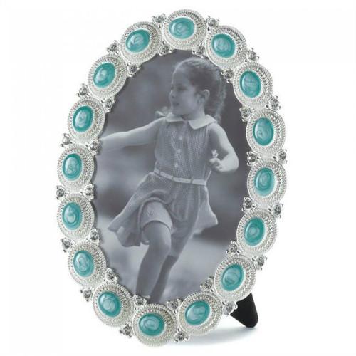 Sea Blue Gems Photo Frame - 4x6