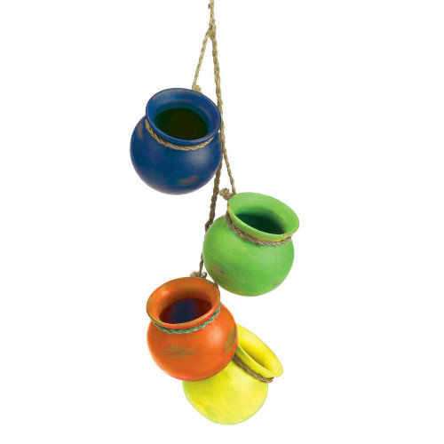 Southwestern Dangling Pots Decor