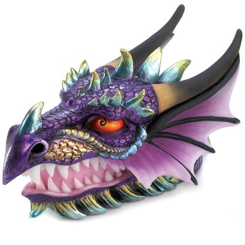 Colorful Ornate Dragon Head Treasure Box