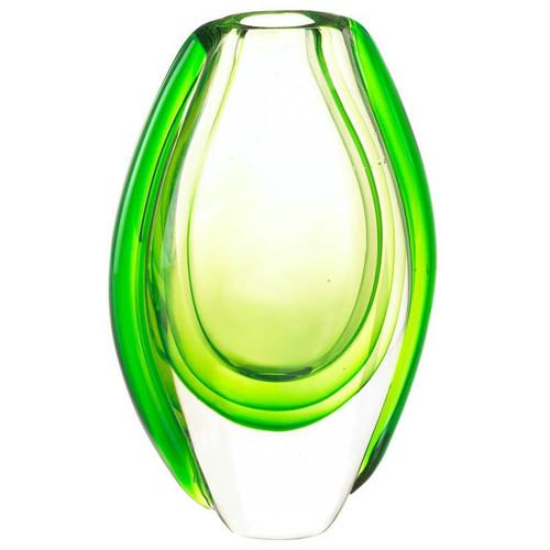 Light Green Art Glass Vase