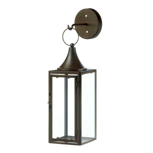 Iron Hanging Candle Lantern and Hook