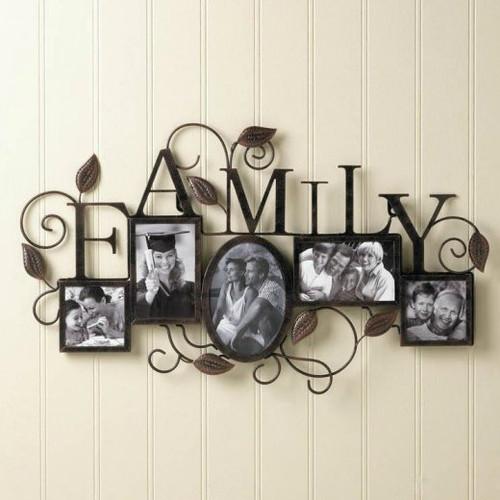 FAMILY Wall Frame - 5 Photos