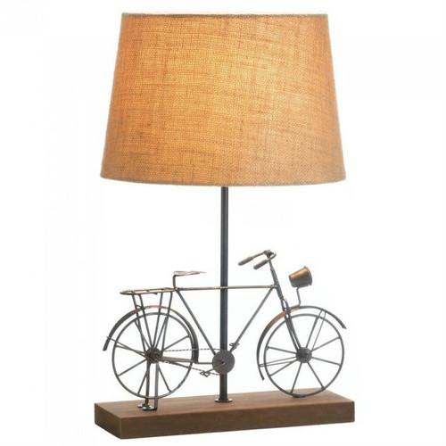 Metal Bicycle Table Lamp