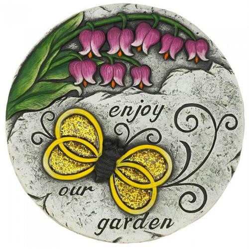 Enjoy Our Garden Bumblebee Cement Garden Stepping Stone