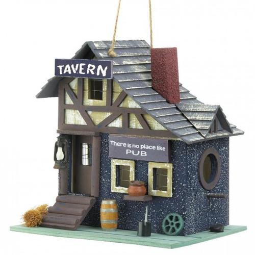 Old-Fashioned Tavern Bird House