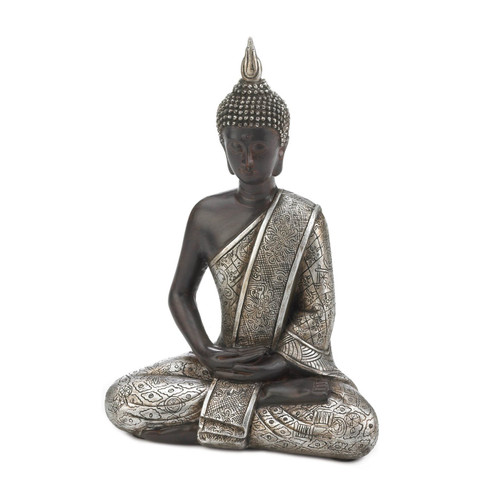 Sitting Buddha Statue - 8.5 inches