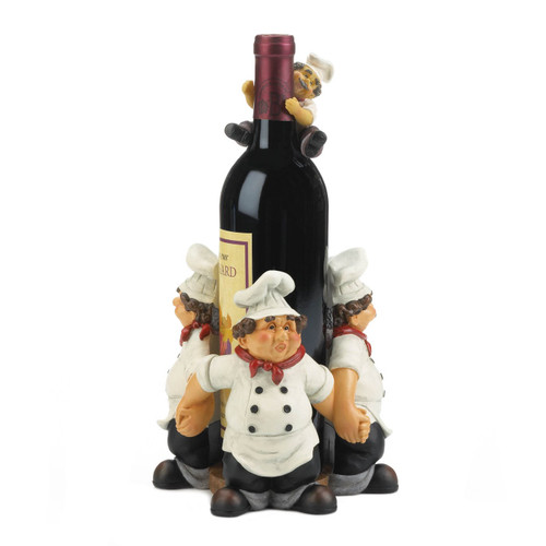 Chefs All Around Wine Bottle Holder