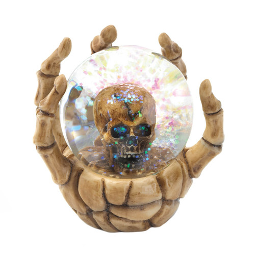 Skeleton Hand Waterball with Skull