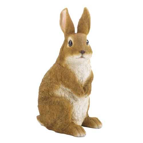 Cute and Curious Rabbit Garden Figurine