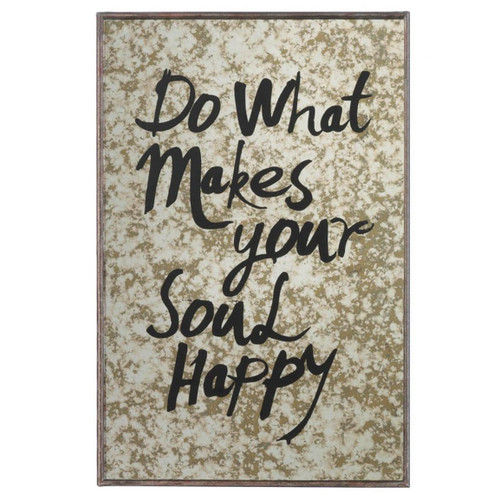 Do What Makes Your Soul Happy Decorative Mirror