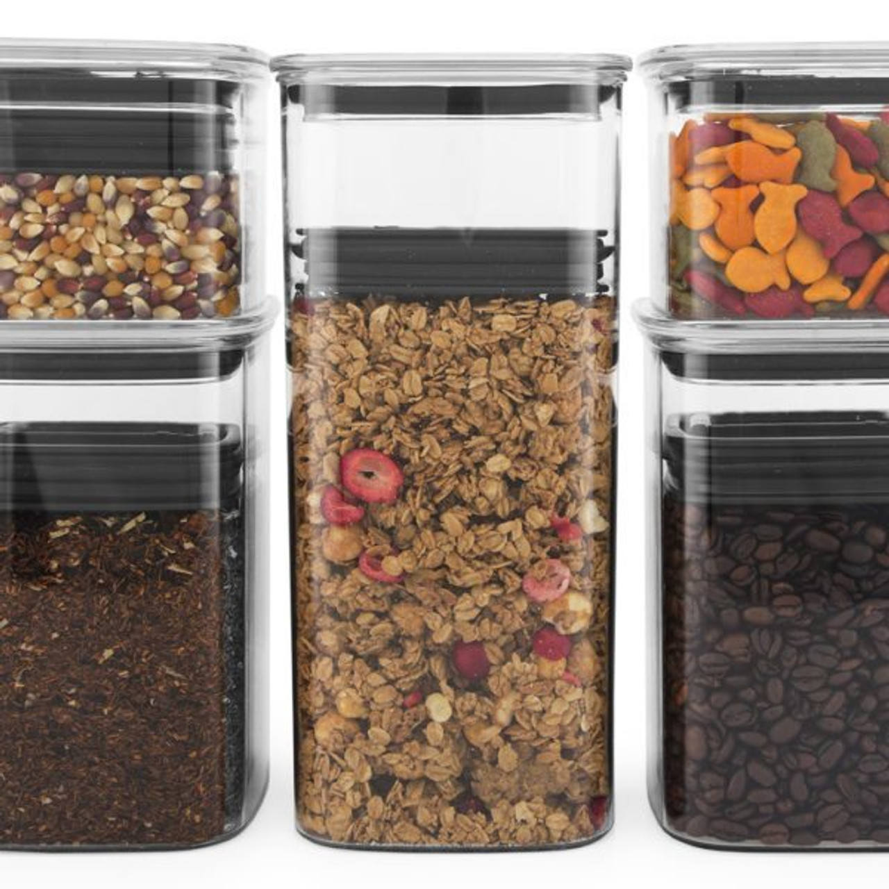 64 oz Airscape Coffee and Food Storage Canister Patented Airtight Lid Pres...