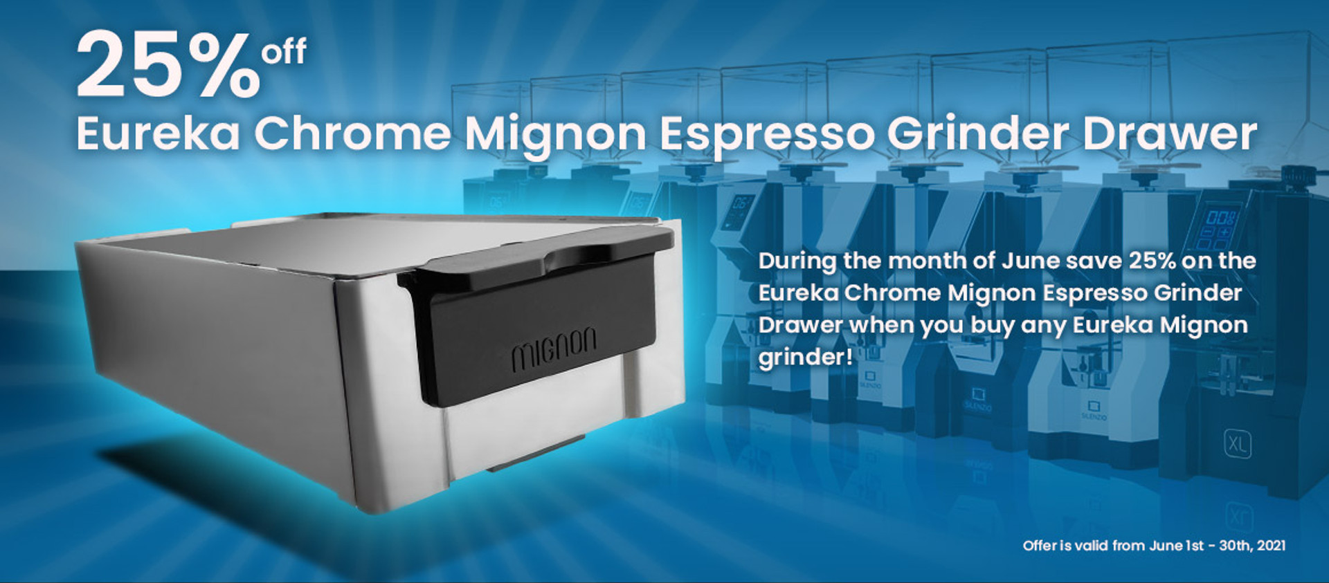 Mignon Drawer - 25% Off with Mignon Grinder