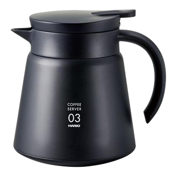 Hario V60 Black Stainless Server (800ml)