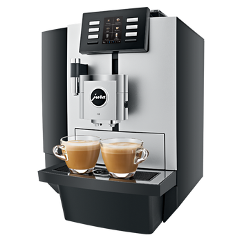 Jura X8 Platinum Professional: One Touch Cappuccino Superautomatic Espresso Machine