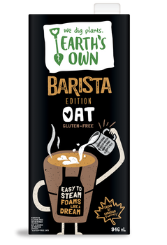 Earth's Own Barista Edition Oat Milk (946ml)