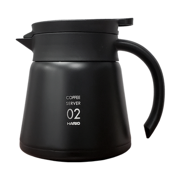 Hario V60 Black Stainless Server 600ml