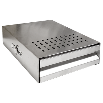 Java Gear Large Stainless Steel Knock Box