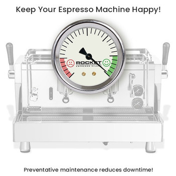 Rocket Commercial Espresso Machine - 1 Year Preventative Maintenance & Extended Warranty Package