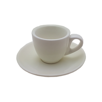 Java Gear 2 oz Ceramic Cup & Saucer