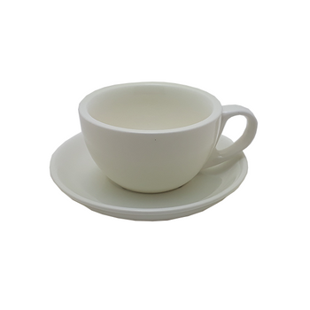 Java Gear 6 oz Ceramic Cup & Saucer