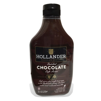 Hollander Dutched Chocolate Cafe Sauce - Squeeze Bottle