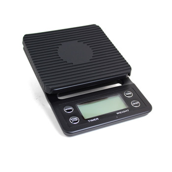 Java Gear Black Coffee Scale (3kg/0.1g)