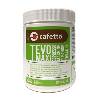 Cafetto Tevo Maxi Organic 2.5g Espresso Machine Cleaning Tablets (150)