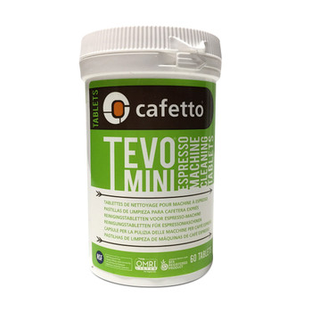 Cafetto Tevo Mini Organic 1.5g Espresso Machine Cleaning Tablets (60)