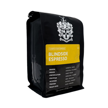 Oughtred Crest Coffee Roasters - Blindside Espresso (454g)