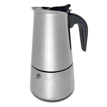 Stove Top Stainless Steel Espresso Maker (9 - Cup)