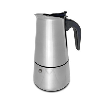 Stove Top Stainless Steel Espresso Maker (6 - Cup)