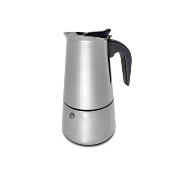 Stove Top Stainless Steel Espresso Maker (4 - Cup)