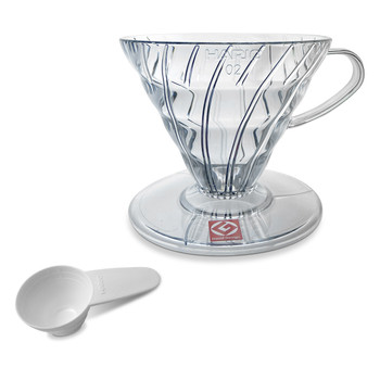 Hario Clear V60 Coffee Brewer 1-4 Cup