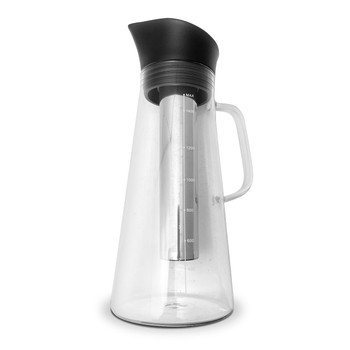 Java Gear Glass Cold Brew Coffee Pot & Stainless Steel Filter (1500ml)